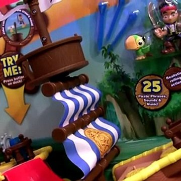 Pirate Ship Bucky & Pirate Mater & Jake and the Never Land Pirates - Barco Pirata Musical with Hook