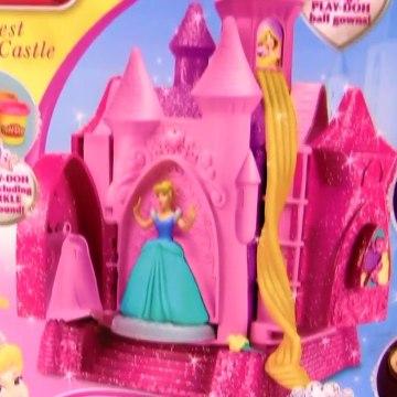 Play Doh Sparkle Prettiest Princess Castle - Play Doh Brillante Glitter Castillo Princesa Cenicienta