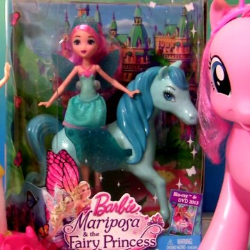 Play-Doh Barbie Disney Princess Cinderella Royal Party Pinkie Pie Barbie Mariposa Fairy Doll Review