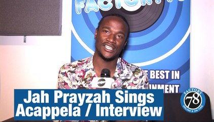 Jah Prayzah from Zimbabwe Sings Acappela / Interview