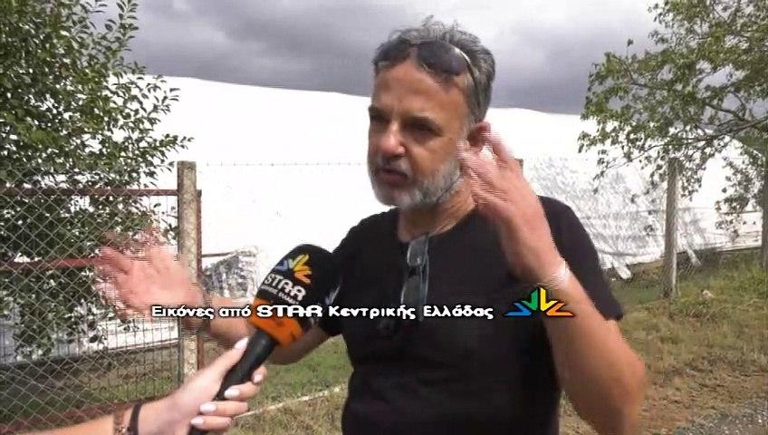Ξεσπά σε δάκρυα παραγωγός μανιταριών στον Σταυρό Λαμίας- Ολική καταστροφή στην παραγωγή- Ανυπολόγιστη η ζημιά
