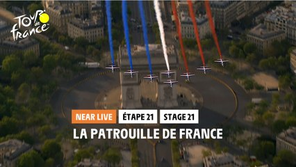 #TDF2020 - Étape 21 / Stage 21 - La patrouille de France