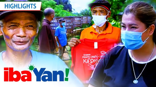 Ka-Sendo thanks Angel and Iba 'Yan team for their aid in Punduhan's eco-tourism | Iba 'Yan