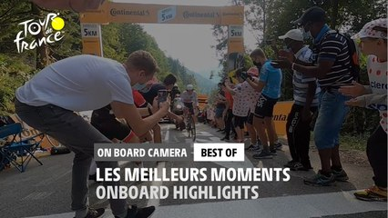 #TDF2020 - Best-of - Onboard Camera Highlights