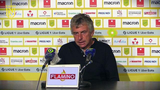 FC Nantes - ASSE : la réaction de Christian Gourcuff