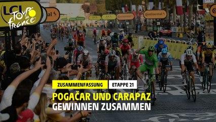 #TDF2020 - Etappe 21 - Kronung fur Bennett und Pogacar