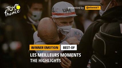 Tour de France 2020 - Most emotional moments of the Tour