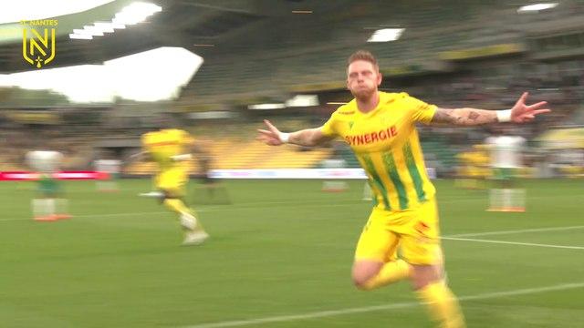 FC Nantes - ASSE : les buts vus de derrière