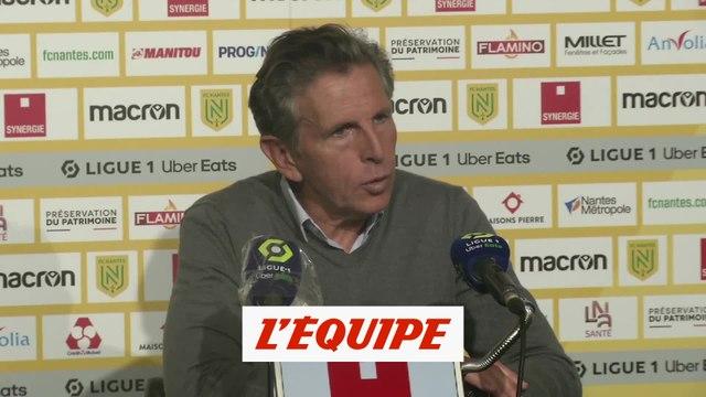 Puel : « On est un peu déçus » - Foot - L1 - Saint-Etienne