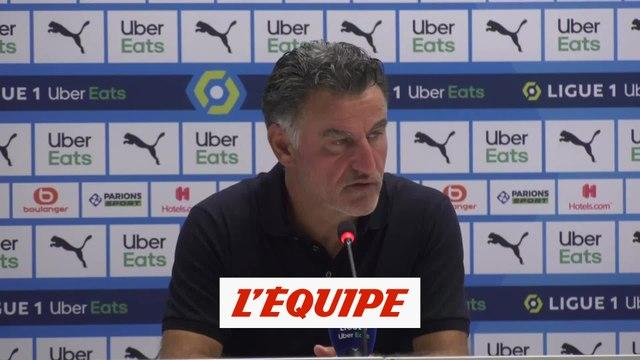 Galtier : « On n'a pas su tuer le match » - Foot - L1 - LOSC
