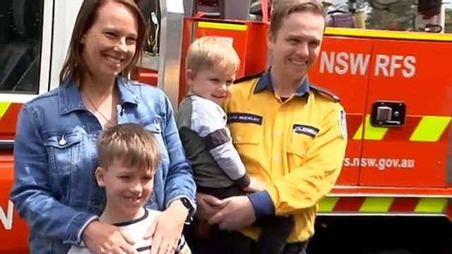 65,000 people recognised for work battling last summer's bushfires