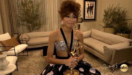 Zendaya's Emmy Press Conference