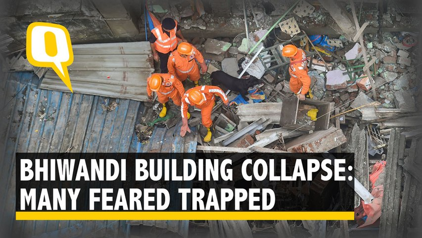At least 10 Dead in Bhiwandi Building Collapse, PM Modi Tweets Condolences