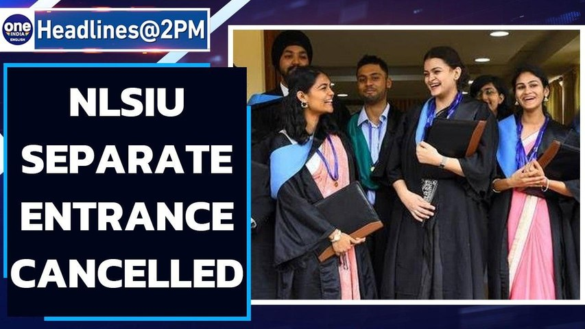 Bangalore National Law School's separate entrance exam cancelled   Oneindia News