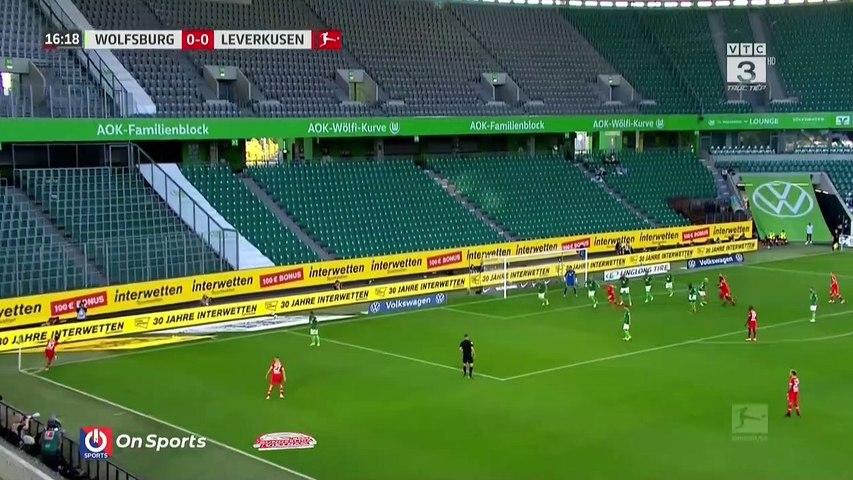 Highlights - VfL Wolfsburg - Bayer 04 Leverkusen - Màn khởi đầu không hoàn hảo - Vòng 1 Bundesliga