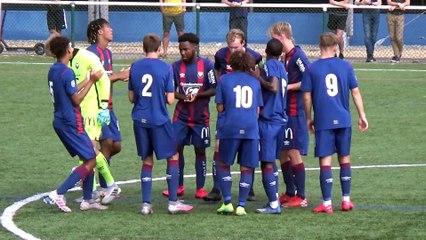 U19 Nationaux (J4) : Les buts (I.Mateyo, M.Fortunato et F.Roncier) du match SMCaen 3-0 FC Chambly