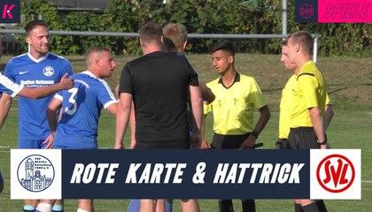K.O. nach Rot und Elfmeter: Doppelbestrafung trifft Böhlitz-Ehrenberg hart | TSV Böhlitz-Ehrenberg - SPVGG Leipzig (4. Spieltag, Stadtklasse)
