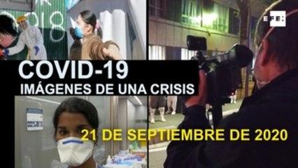 Covid-19 Imágenes de una crisis en el mundo. 21 de septiembre
