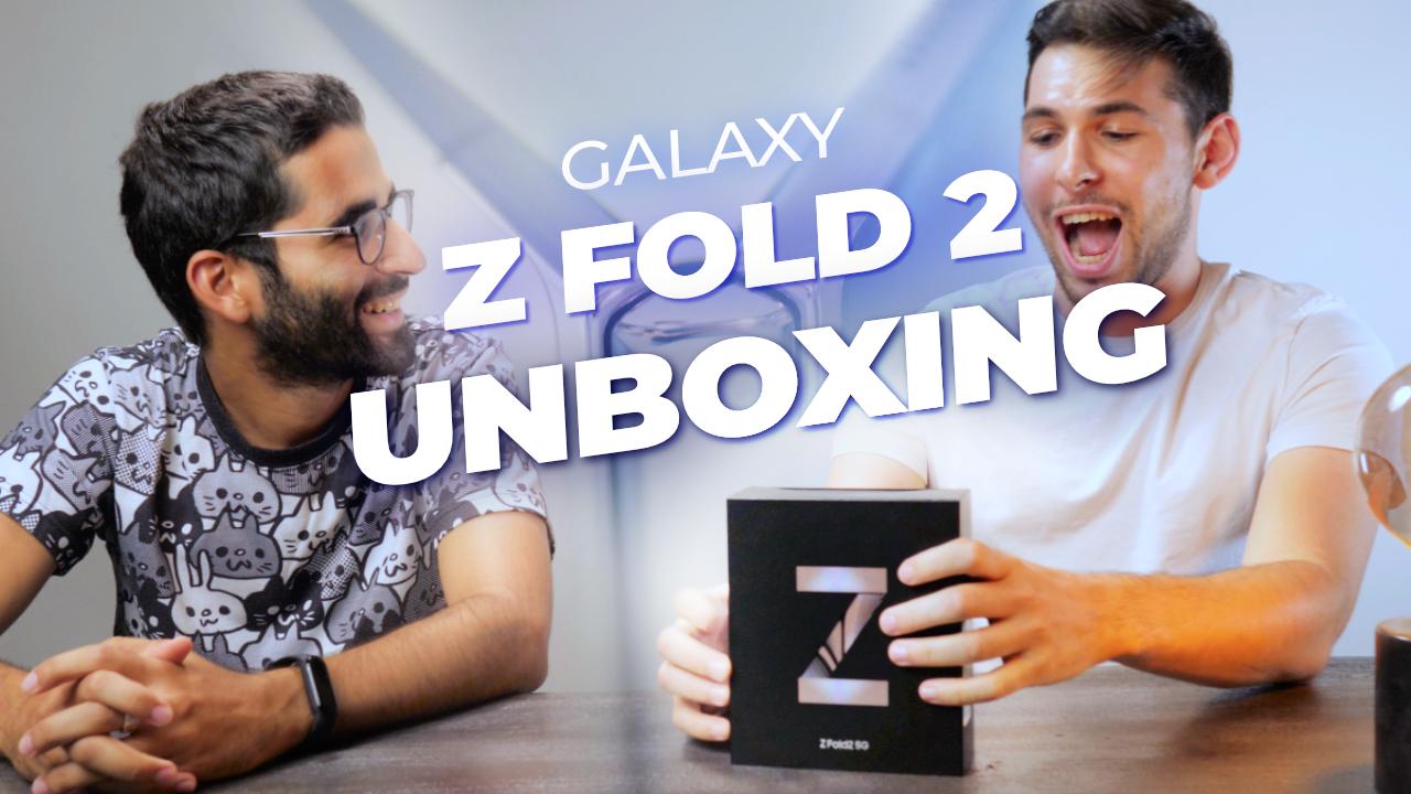 On déballe le Samsung Galaxy Z Fold 2 : nos premières impressions !