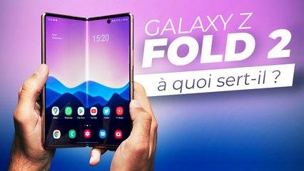 À quoi ça sert un smartphone pliant ? (Test du Samsung Galaxy Z Fold 2)