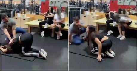 Os efeitos colaterais de um bom alongamento no ginásio...