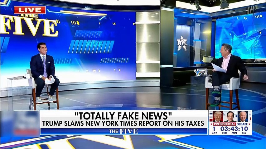 #NEWS  Gutfeld on the phony outrage over Trump's tax returns