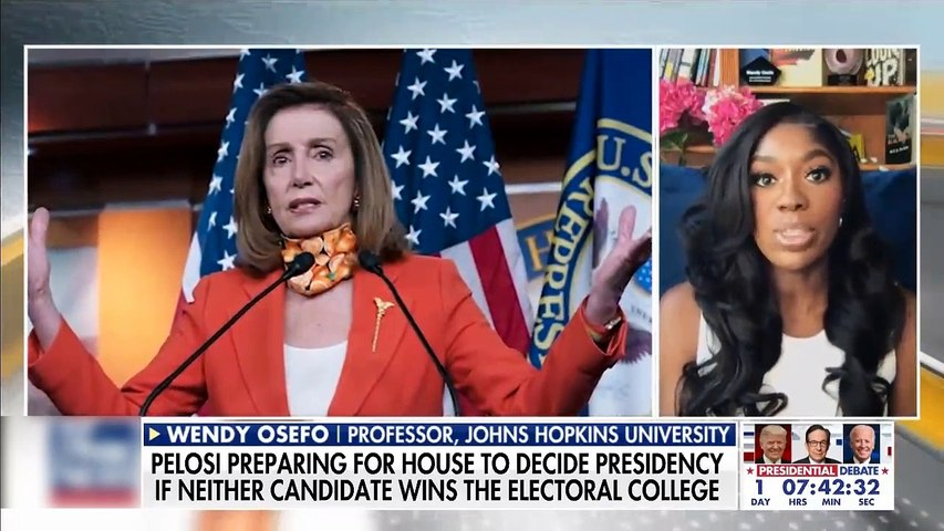 #NEWS  Pelosi preparing for possibility that neither candidate wins electoral college