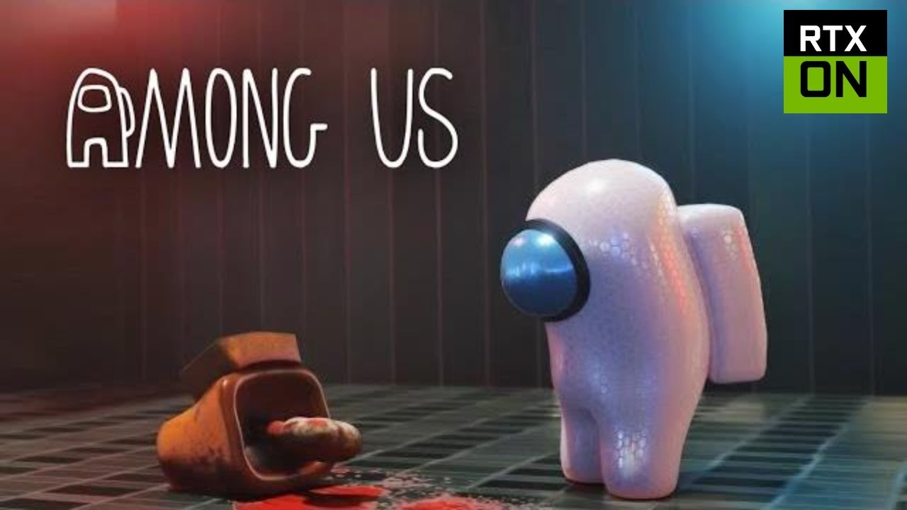 Among Us Rtx On 3d Animated Video Dailymotion