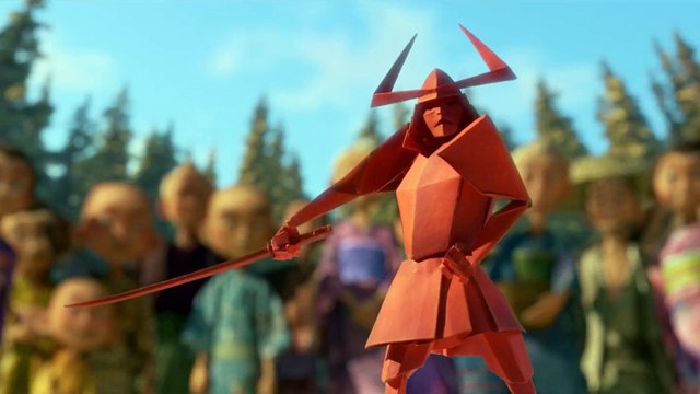Kubo and the Two Strings movie clip - Origami Samurai