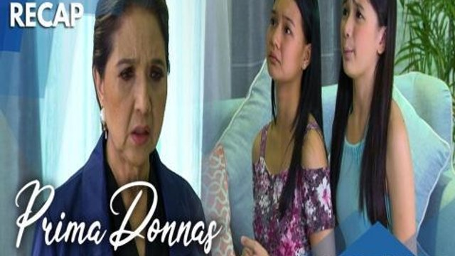 Prima Donnas: Donna Belle and Donna Lyn kneel before Lady Prima | Recap Episode 24