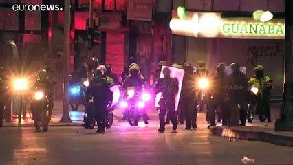 Los disturbios deslucen la jornada de movilización en Colombia
