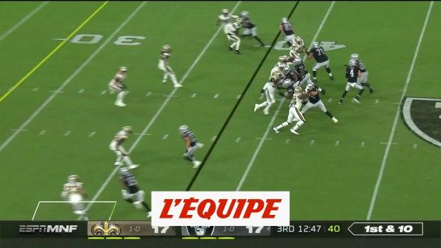 Les temps forts de Las Vegas Raiders-New Orleans Saints - Foot US - NFL 2020-2021