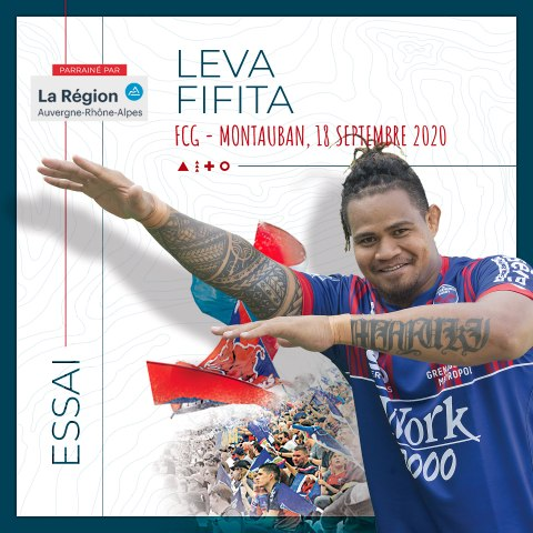 Video : Video - L'essai de Leva Fifita contre Montauban, saison 2020-2021