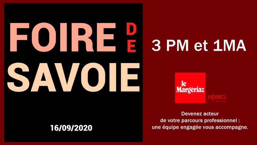 Sortie Foire de Savoie-1MA et 3PM