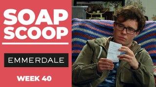 Emmerdale Soap Scoop! Vinny's shock discovery