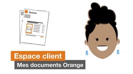 Mes documents Orange