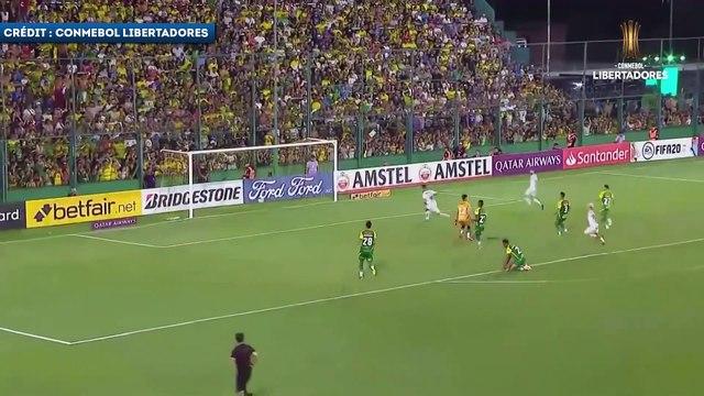 Le but de Kaio Jorge qui offre la victoire à Santos en Copa Libertadores