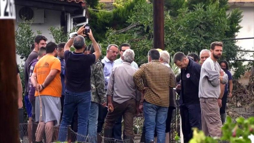 Φθιώτιδα: Έκκληση Σπανού στους πλημμυροπαθείς από τον κυκλώνα