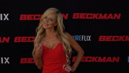 """Anne Elizabeth Fundner """"Beckman"""" Movie Premiere Red Carpet Fashion"""