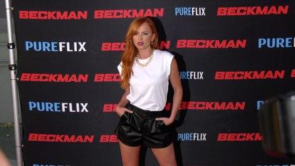 "Danielle Moinet ""Beckman"" Movie Premiere Red Carpet Fashion"