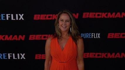 """Erin Murphy """"Beckman"""" Movie Premiere Red Carpet Fashion"""
