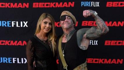 """Gwendolyn and Mavrick Von Haug """"Beckman"""" Movie Premiere Red Carpet"""