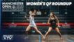 Squash: Manchester Open 2020 - Women's QF Roundup