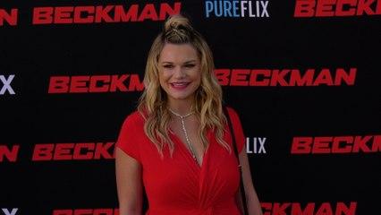 """Kelly Heyer """"Beckman"""" Movie Premiere Red Carpet Fashion"""