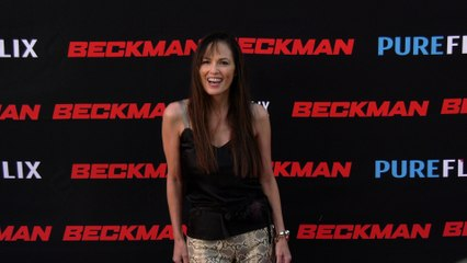 "Terri Ivens ""Beckman"" Movie Premiere Red Carpet Fashion"