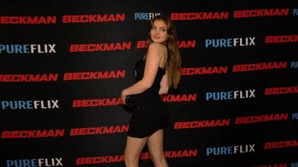 "Brighton Sharbino ""Beckman"" Premiere Red Carpet Fashion #2"