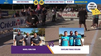 Quart DURK vs CHAPELAND : Mondial la Marseillaise à pétanque 2020 - 31 août