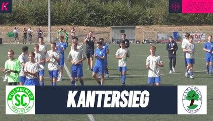 Deutlicher Auswärtserfolg | Pulheimer SC U17 - TuS BW Königsdorf U17(3. Spieltag, B-Junioren Bezirksliga 2)