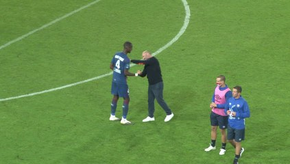 Jason Ngouabi a disputé ses premières minutes en équipe professionnelle lors de SMCaen 0-0 FC Chambly (J4 Ligue 2 BKT)