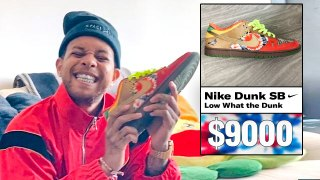 Chase B Shows Off His Favorite Sneakers, From Rarest to Oldest